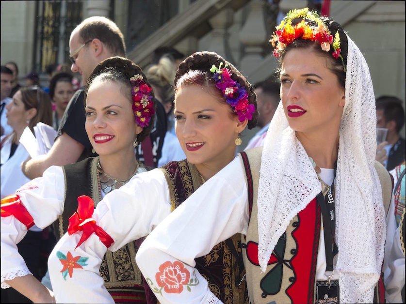 Ouverture des Rencontres de folklore internationales 2017