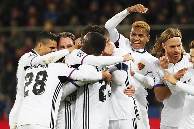 Ligue des champions: Bâle gagne à Moscou et assoit son autorité
