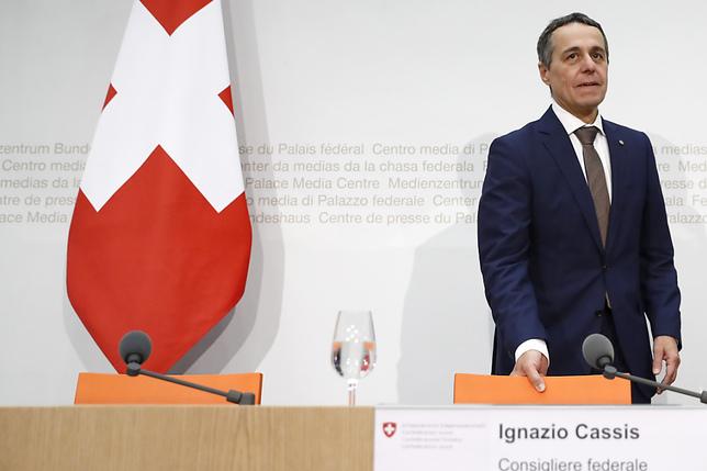 Ignazio Cassis reprend le DFAE