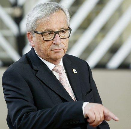 Le président de la Commission européenne, Jean-Claude Juncker, a dévoilé hier sa vision de l'avenir de l'Europe.  © Keystone