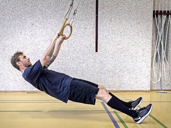 Motivé dès la préparation physique, Benjamin Chavaillaz a profité du nouveau départ pris par Gottéron.  © Alain Wicht-archives