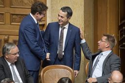 Ignazio Cassis, élu au Conseil fédéral, respectera la collégialité
