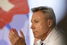 Adrian Amstutz quitte la présidence du groupe parlementaire UDC