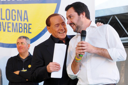 Accord entre Berlusconi et la Ligue du Nord en vue des élections en Italie