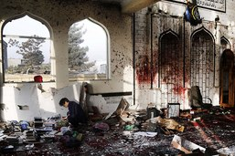 L'EI revendique l'attentat contre une mosquée chiite à Kaboul
