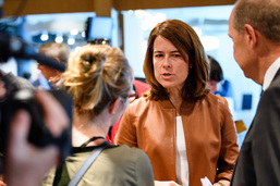 Petra Gössi attaque la gauche «qui n'a plus les pieds sur terre»