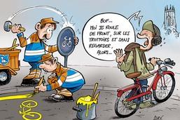 Fribourg étend son réseau cyclable