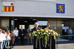 Ecole intercommunale inaugurée