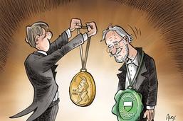 Nobel de chimie: le canton de Vaud à l'honneur