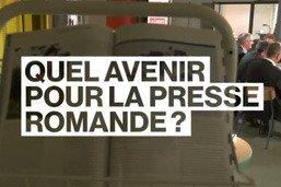 Débat sur l'avenir de la presse romande, avec Serge Gumy