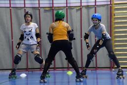 Les Derby girls de Fribourg