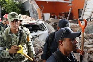 Violent séisme dans le sud du Mexique, près de cinquante morts