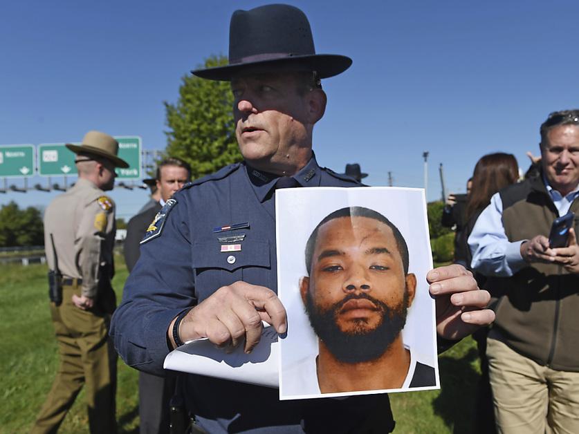 Chasse à l'homme après deux fusillades dans l'est des Etats-Unis