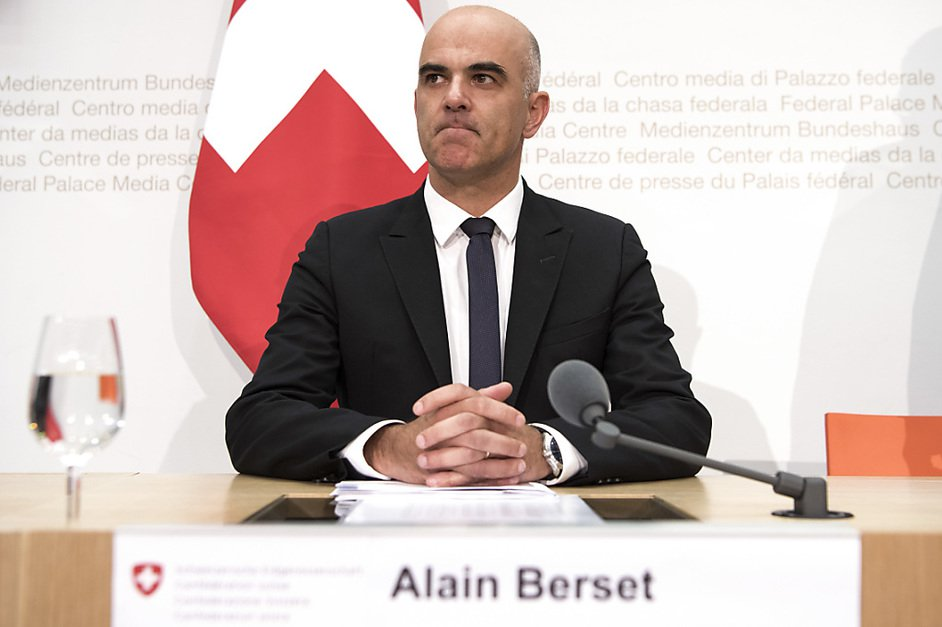 Alain Berset: «Le problème reste entier»