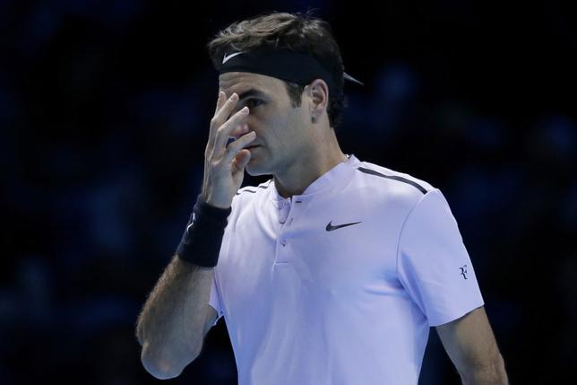 Federer battu en trois sets par Goffin