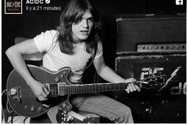 Malcolm Young, co-fondateur du groupe AC/DC est décédé