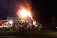 Maison en feu à Corbières: les occupants indemnes
