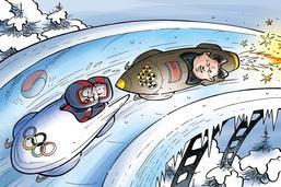 La Corée du Nord aux JO d'hiver de la Corée du Sud