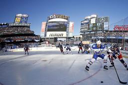 NHL: les Rangers arrachent le Winter Classic