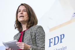 La présidente du PLR dénonce les attaques contre le Conseil fédéral