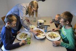 Manger avec des enfants, tout une aventure