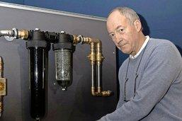 Son invention purifie l'eau du robinet