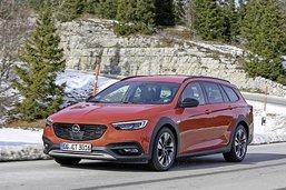 Le modèle phare d'Opel joue les aventuriers