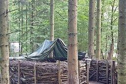 Des vandales ont sévi dans le cœur du bois de Moncor