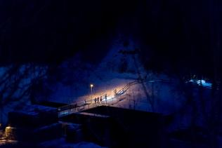 Fribourg by night trail