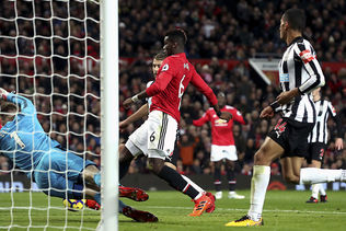 United gagne avec Pogba et Ibrahimovic