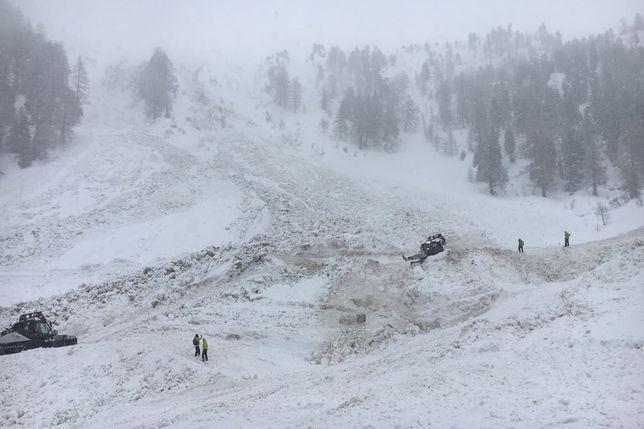 Toujours deux disparus dans l'avalanche de Riddes