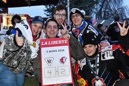 Fribourg-Gottéron - LHC: les images des fans