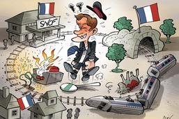 Grèves SNCF: le nouveau train-train d'Emmanuel Macron