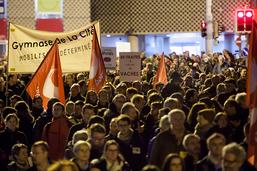 VD: 4000 personnes dans la rue pour la retraite des fonctionnaires
