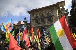 Une marche Lausanne-Genève pour dénoncer les massacres à Afrine