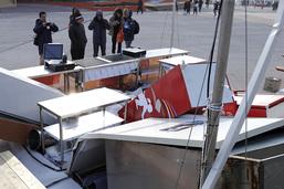 Le vent force à évacuer la zone olympique de Gangneung