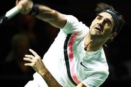 Rotterdam: une toute dernière marche pour Federer