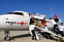 La Rega est venue en aide à 29 patients par jour en 2017