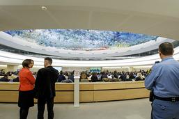 Cassis arrive au Conseil des droits de l'homme dans un climat tendu