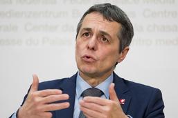"""Cassis appelle à Genève les Etats à rejeter """"la loi du plus fort"""""""