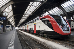 Les nouveaux trains CFF à deux étages mis en circulation