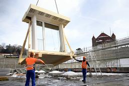 Lausanne: surélévation exemplaire d'un bâtiment à la Riponne