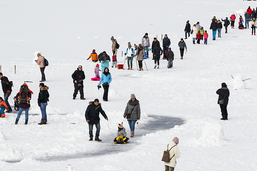 Le redoux sonne le glas de la marche sur la glace