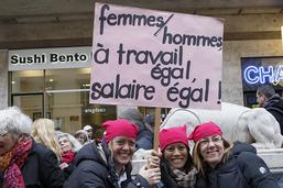 Egalité salariale ou parité en politique: la Suisse en est loin