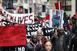 Manifestation contre le racisme et les violences policières