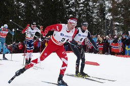 Dario Cologna remporte au sprint le 50 km de Holmenkollen