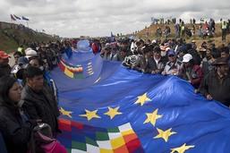 Un drapeau de 200 km pour réclamer un accès de la Bolivie à la mer