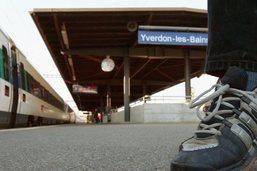 Les trains ne circulent plus entre Estavayer et Cheyres