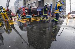 Une centaine de personnes évacuées à la Servette à Genève
