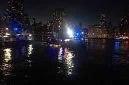 Crash d'un hélicoptère à New York: les cinq passagers tués
